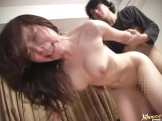 Horny MILF Mizuki Tachibana Gets Her Shaved Pussy Fucked and Ceampied