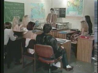 Vintage Classroom Orgy