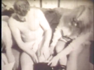 Retro FFM Threesome With Emily Angel & Sally Pepper