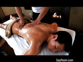 Butt fucked after massage