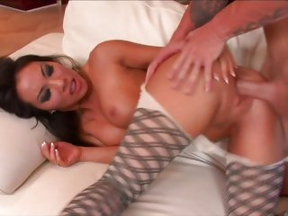 Asian Asa Akira loves getting her wet slot slammed