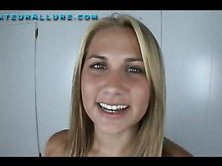 Alanah is twenty years old, 5 ft7 inches tall and an all natural beauty and college coed. That Babe saw the site and all the beautiful angels and wanted her discharged. This Babe skips school this day and meets up with my guy, Ray. That Babe shows off her oral skills, and really enjoys giving head and can effortlessly unfathomable face hole Ray's organ. Alanah swallows two large loads with a smile.