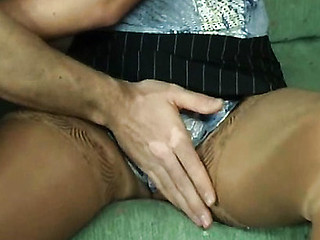 Lastly virgin cum-hole finds good fit and gets the tool inside