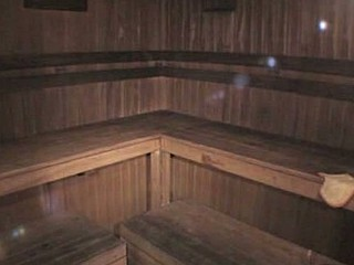 From this video filmed by spy cam in the sauna it's obviously seen that sexy babe in funny hat is very hot and she spreads her legs demonstrating her trimmed beaver and thick vagina lips while dreaming about perfect skin!