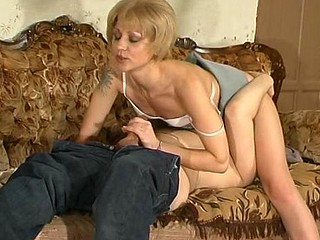 Voluptuous mother i'd like to fuck doing 10-Pounder-stiffening strip-tease in front of younger guy