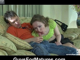 Awesome aged chick gets sufficiently dosage of guy