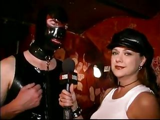 Do you like leather belts and chains? If you do then you probably love being dominated or to dominate. Sexcetera gives us a short peek of the bdsm world. Here everybody is having fun and exploit their loved ones. The interviews this bitch does are making things interesting but are we going to see her punished?