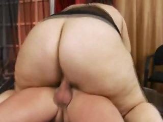 A super fat bitch that loves dick