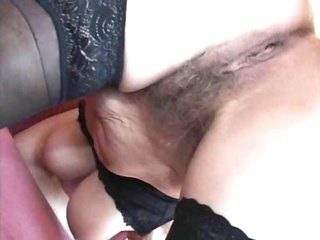 Mature takes piss and a hardcore fuck