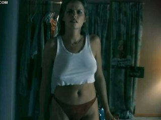 Julie Cialini Looking Hot With a Thong and a White Top