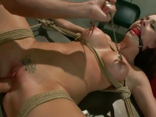 Alluring Chanel Preston gets pounded up her piss flaps