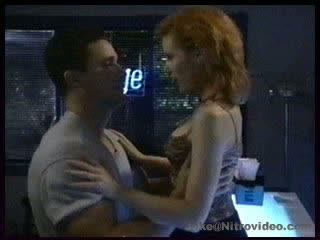 Hot Action With Monique Parent On The Club's Bar