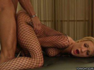 Big boobed blond porn star Am