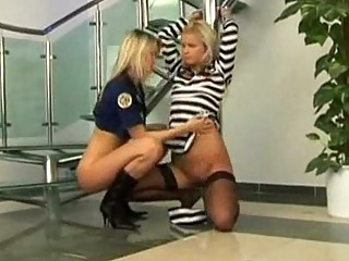 Heather wild and tara police officers and inmate