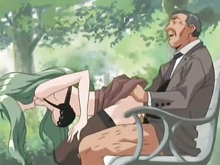 Fucking couple gets voyeured in a park