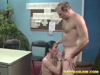 Fucking his secretary