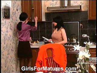 Rosaline&Gertie lesbian mature movie