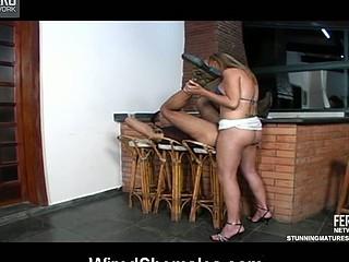 Upskirt shemale in bikini itching to drill unfathomable her boyfriend