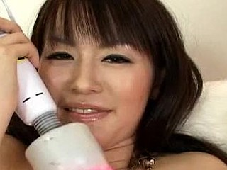 When it comes to passing time, Ai Himeno has no problems filling it. In this case, this babe invites her ally over to use her fresh sex toys and use it on her. U will have a fun watching her labias quiver as vibrator and sex tool are stuffed into her pink taut Japanese vagina.  Her vag would get so ruddy, u want to dive in there and take up with the tongue the sweet cunt juices!