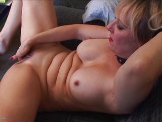 Mature sluts from us are god damn hot, these bitches have the experience and know how of a lifetime. Here we can enjoy watching Cherise, a blonde whore that's spending some quality time with herself. She rubs and fingers her tight shaved vagina, licking her fingers and bending with pleasure while satisfying herself.
