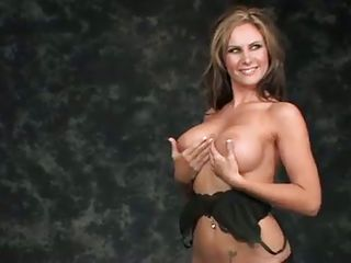 Watch these hot chicks posing in front of the camera and teasing with hot poses. Watch how seductive their attitudes are while they are doing these interviews. These milf, brunette babe and hottie blonde would really, made your day if you watch them with their playmates! Their juicy ass and boobs will blow your mind away. So stay tuned!