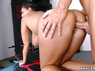 Jasmine Black has a pair of big natural tits, an ass that needs a hard cock in it and a slutty mouth that drools for cum. Look at this hot milf as she sucks the guy cock and then takes it from behind in her sexy big booty before taking it between those hot melons. Do you think he will cum between her hot breasts?
