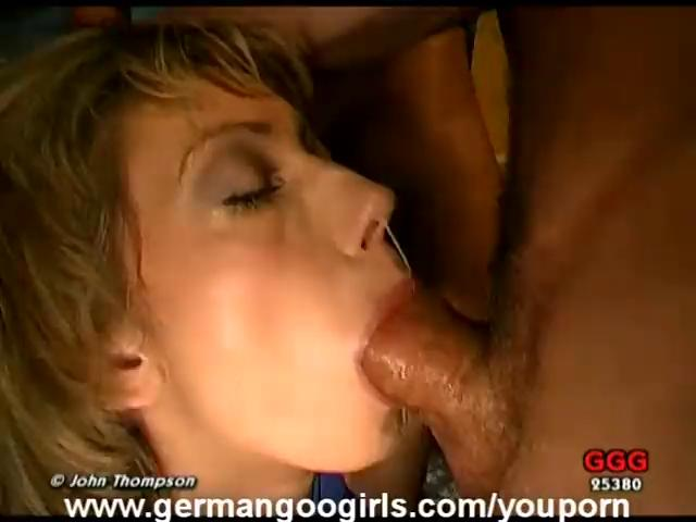 German MILF Face Fucked and Drenched in Cum