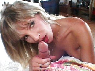 She milks my cock