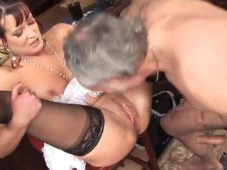 British maid nailed in the bar