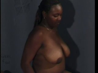 Black Hooker Having Her Shaved Pussy Fucked In Jail Cell