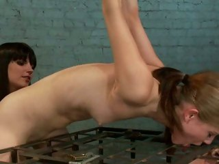 Nasty Bobbi Starr torments these two bitches