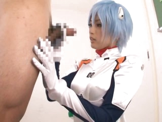 Super Hot Asian Teen Yuu Namiki Gives Blowjob in Sexy Anime Outfit