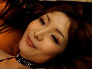 Hot Asian MILF Riona Suzune Sucks and Fucks Her Young Boyfriend's Cock