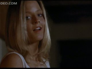 Gorgeous Jodie Foster Puts On Sexy Black Stockings - 'Catchfire' Scene