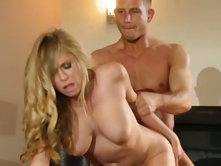 Hardcore fuck with big titted Brynn Tyler