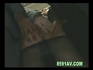OL double penetration in train