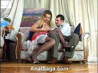 Maria&Monty hardcore assfucking video