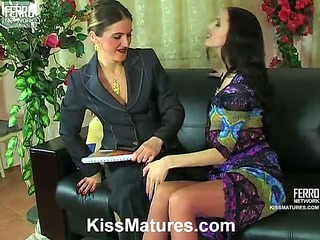 Martha&Judith pussyloving mature on video