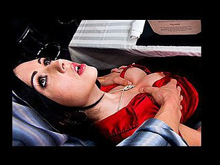 Angell and Erik have been dating for a not many weeks and things have yet to get physical. After a lot of thought Erik makes a decision this chab has to break up with Angell 'cuz this babe's a prude. When Angell realizes the reason Erik is breaking up with her that babe realizes it's time to confess her black secret. Angell's an exhibitionist and to keep this relationship going that babe's just going to have to fuck Erik at their table in the restaurant.