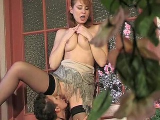 Sexy party turns into sheer fuck for experienced aged chick and youthful honey