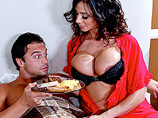 When a guest at her couch and breakfast is having trouble performing on his honeymoon, Ariella resolves to take matters into her own hands...along with his ramrod!  The hostess with the mostest, Ariella will bow over backwards in order to leave her guests satisfied.