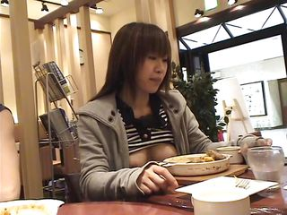 Japanese cunt Yuzuki is eating dinner at a restaurant and drinking her coffee. She is invited by her boyfriend in his car, where she starts taking her clothes off one by one. Then, they go in a room and the bitch is completely naked. She is showing off that tight cunt of hers to really turn him on!