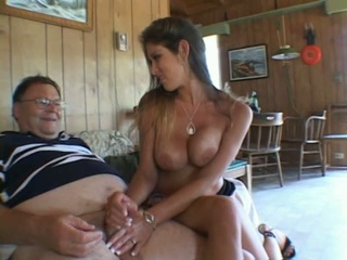 Lucky fat bastard fucks some sweet girl's hand