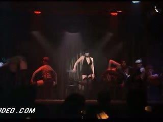 Retro Babe Liza Minnelli Dancing In Lingerie in a Hot 'Cabaret' Scene