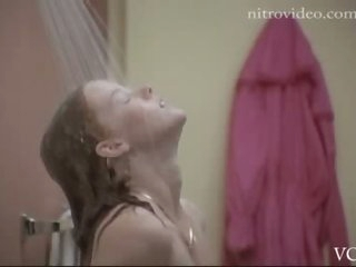 Gorgeous Sandra Beall Naked in the Shower in a Hot Sex Scene