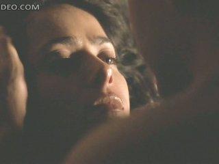 Spectacular Latina Salma Hayek Gets Lucky in a Wild Sex Scene
