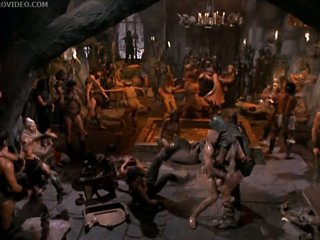Barbi Benton Naked in Crazy Barbarian Party
