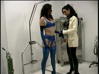 Busty Submissive Brunette Anastasia Gets Her Big Knockers Tortured