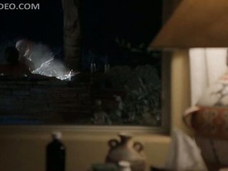 Billy Bob Thornton Fucks Lauren Graham In a Jacuzzi Outdoors