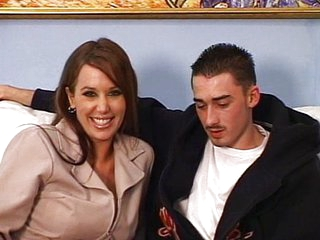 MILF likes young cock
